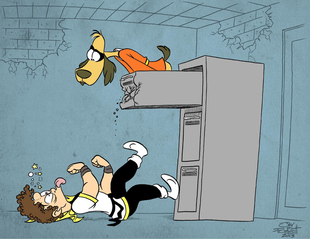 HONG KONG PHOOEY VS THE KARATE KID by JayFosgitt