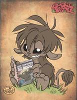 Bodie digs comics by JayFosgitt