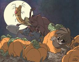 OCTOBER MONSTER SKETCH #31 by JayFosgitt