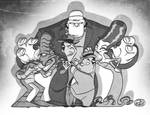 Abbot and Costello meet some other monsters