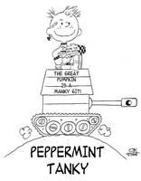 PEPPERMINT TANKY by JayFosgitt
