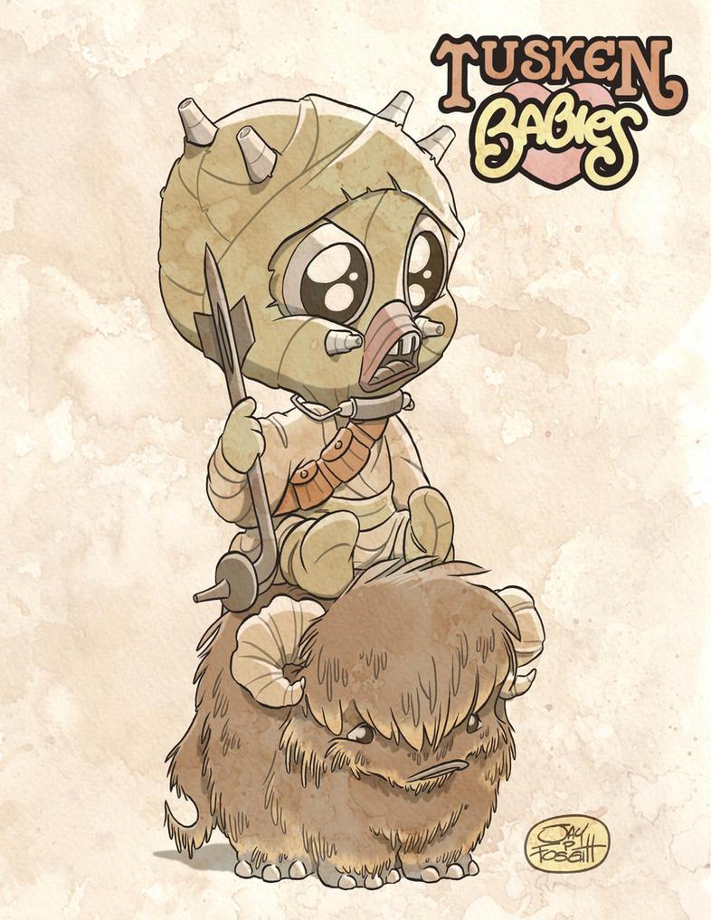 TUSKEN BABIES by JayFosgitt