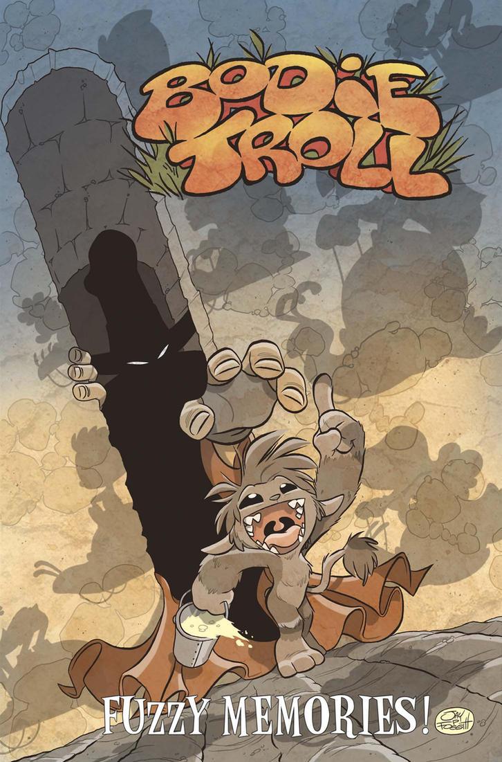 BODIE TROLL: FUZZY MEMORIES #2 COVER by JayFosgitt