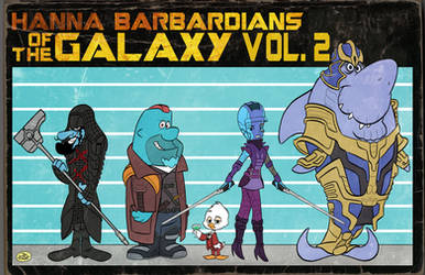 HANNA BARBARDIANS OF THE GALAXY VOL. 2 by JayFosgitt