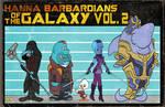 HANNA BARBARDIANS OF THE GALAXY VOL. 2