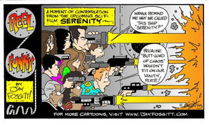 Serenity Cartoon by JayFosgitt