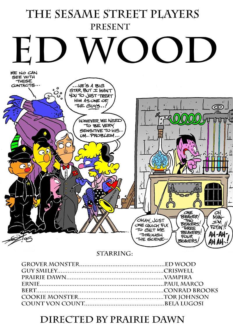 Ed Wood Sesame-Style by JayFosgitt