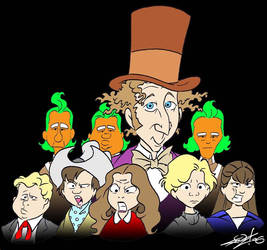 Old School Willy Wonka Cast