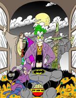 Movie Night At Batman's House by JayFosgitt