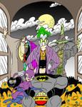 Movie Night At Batman's House
