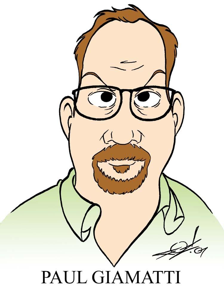 Paul Giamatti Caricature by JayFosgitt