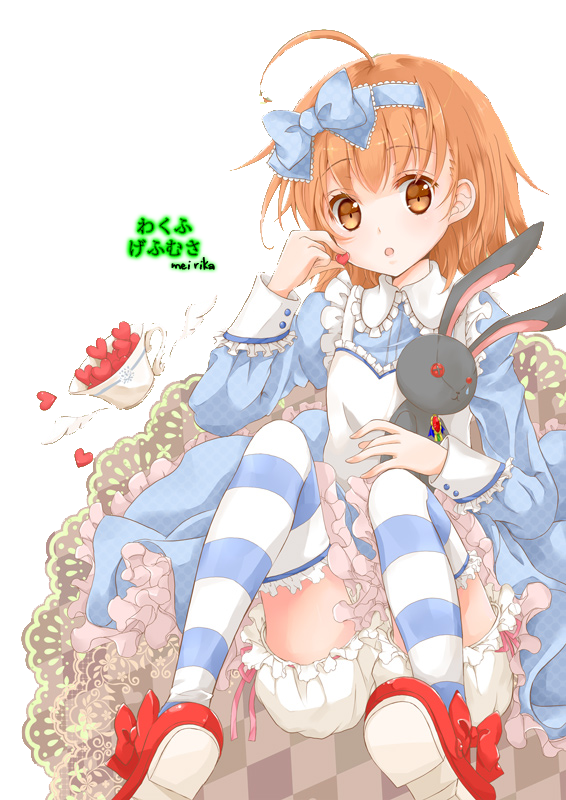 Partage de renders Alice_in_wonderland_render_by_baka_rika-d4uyaji