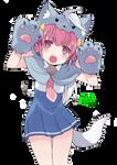 Cat Girl Nyan~ Render!