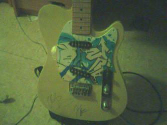 my guitar w custom pickupguard