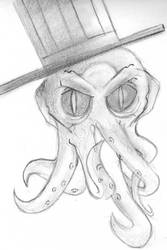 Cthulhu With Hat