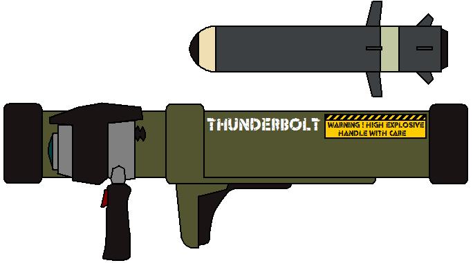 Thunderbolt Missile Launcher by IgorKutuzov
