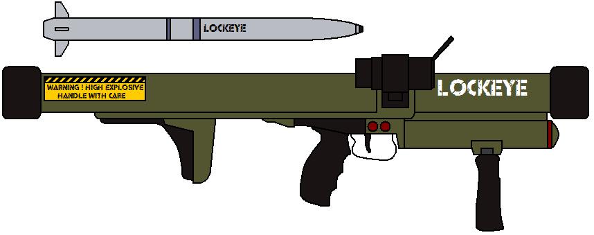 Lockeye missile launcher by IgorKutuzov