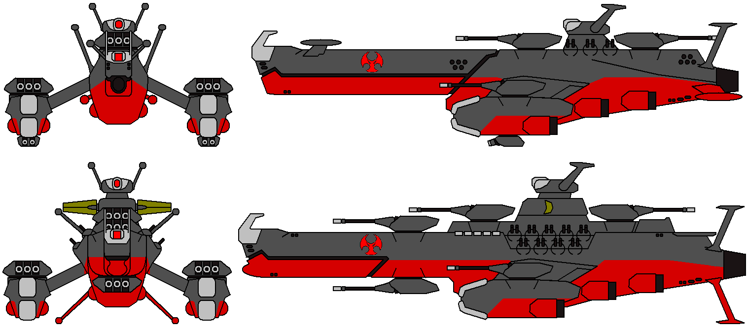 Long rod and Kirov Destroyers by IgorKutuzov