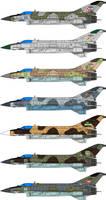 Mig-21 Zk-F+ Fishbed II Camo