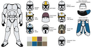 Clone trooper armor by IgorKutuzov