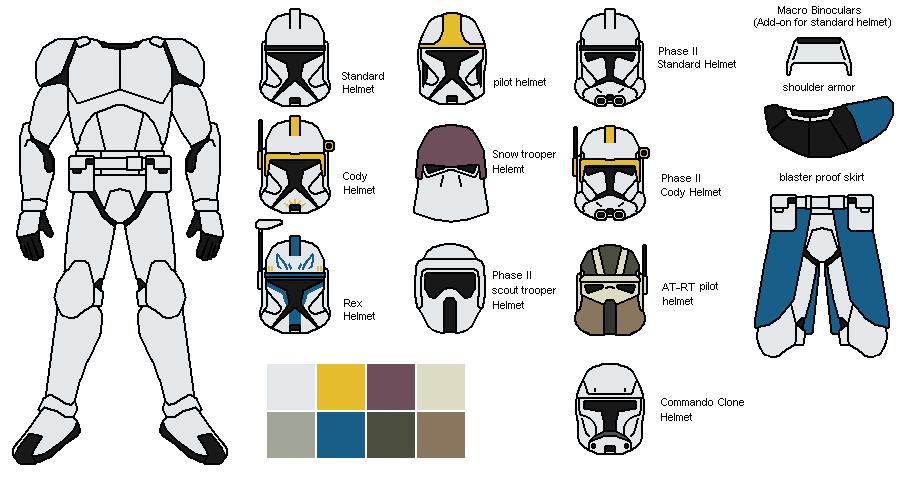 Clone trooper armor by IgorKutuzov on DeviantArt