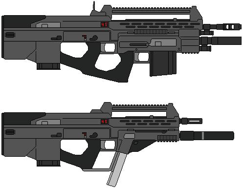 AR-71 Bangalter Assault Rifle by IgorKutuzov