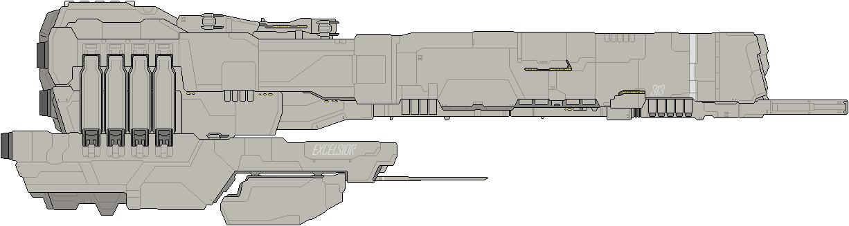Excelsior Class AIV by IgorKutuzov