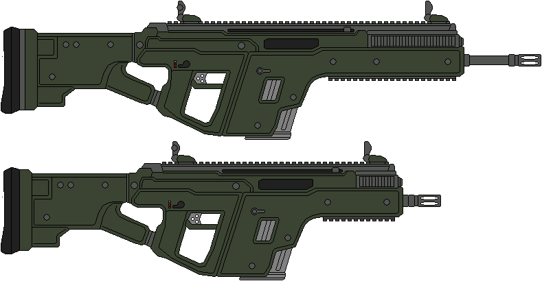 M-368 Vektor Assault Rifle by IgorKutuzov