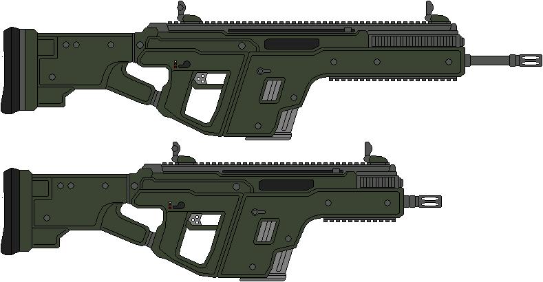 M-368 Vektor Assault Rifle by IgorKutuzov