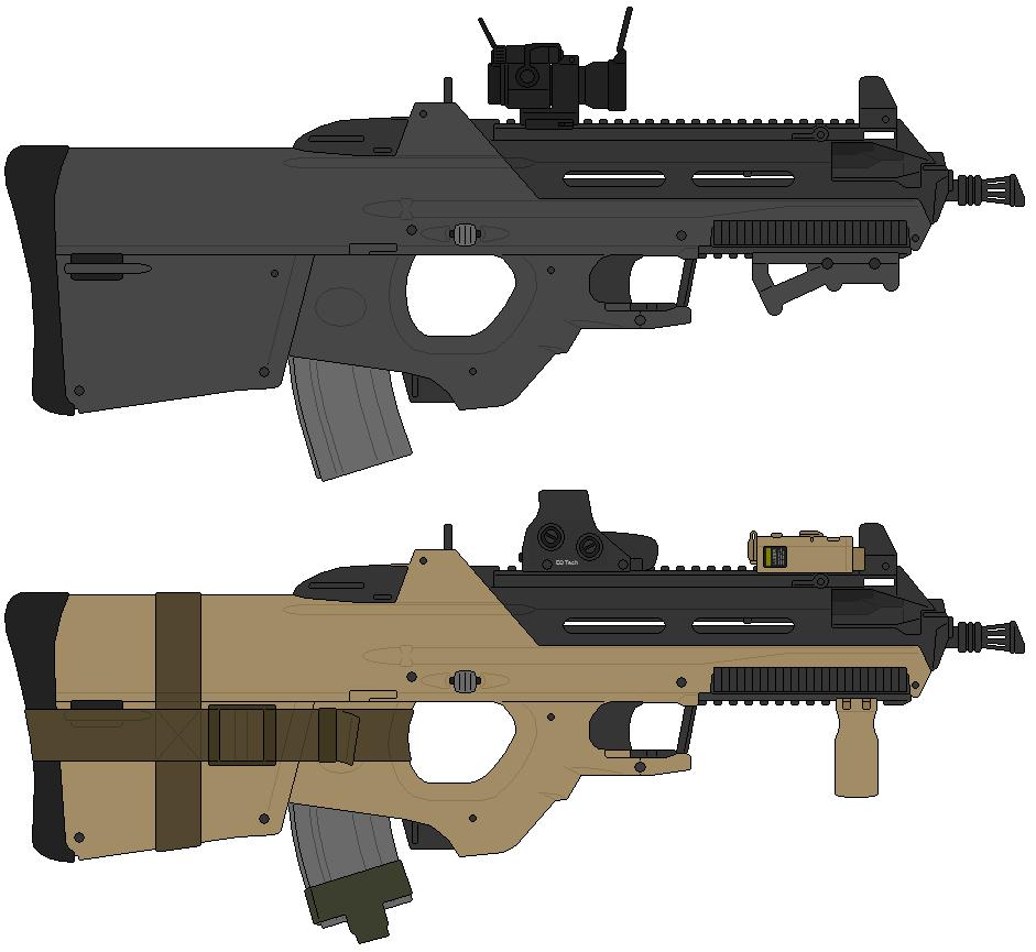 Fn F2000 TAC Triple-RIS by  F 2000