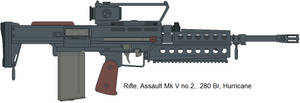 Hurricane .280 Br Assault rifle