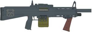 Bulldog .12 Gauge Auto-shotgun by IgorKutuzov