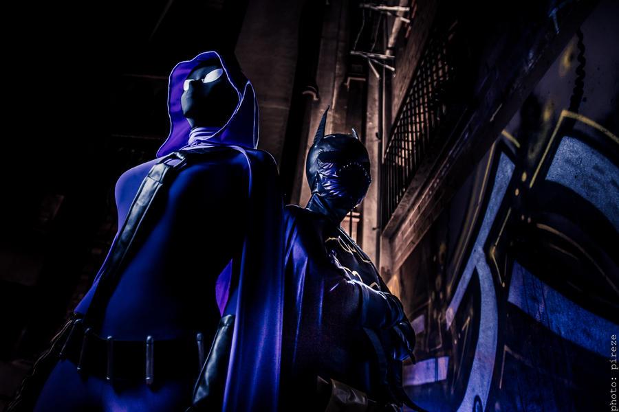 Spoiler : : 2 : : feat Batgirl by breathless-ness