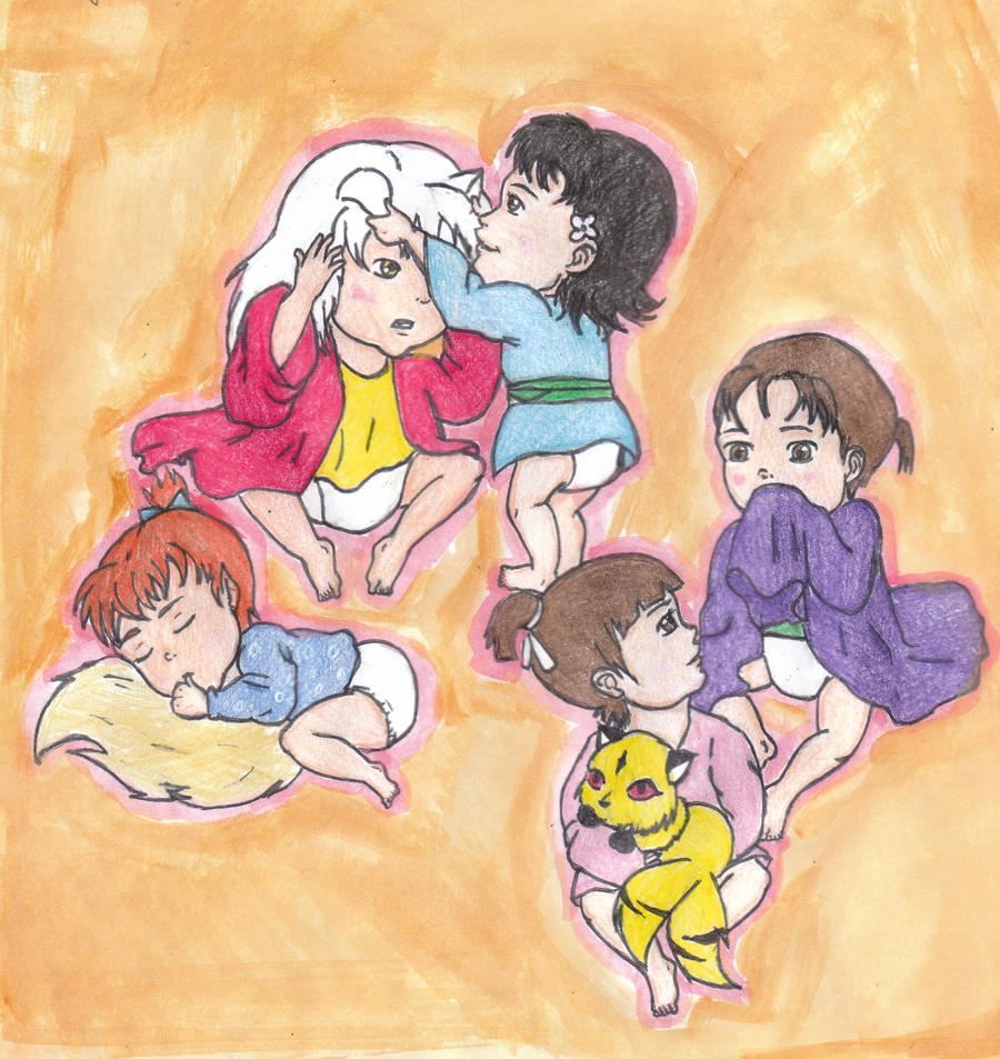 Baby Naruto Characters - Viewing Gallery Gaara And Naruto Kids