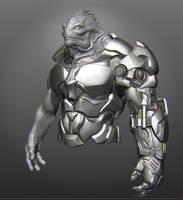 Alien 32 armor sketch