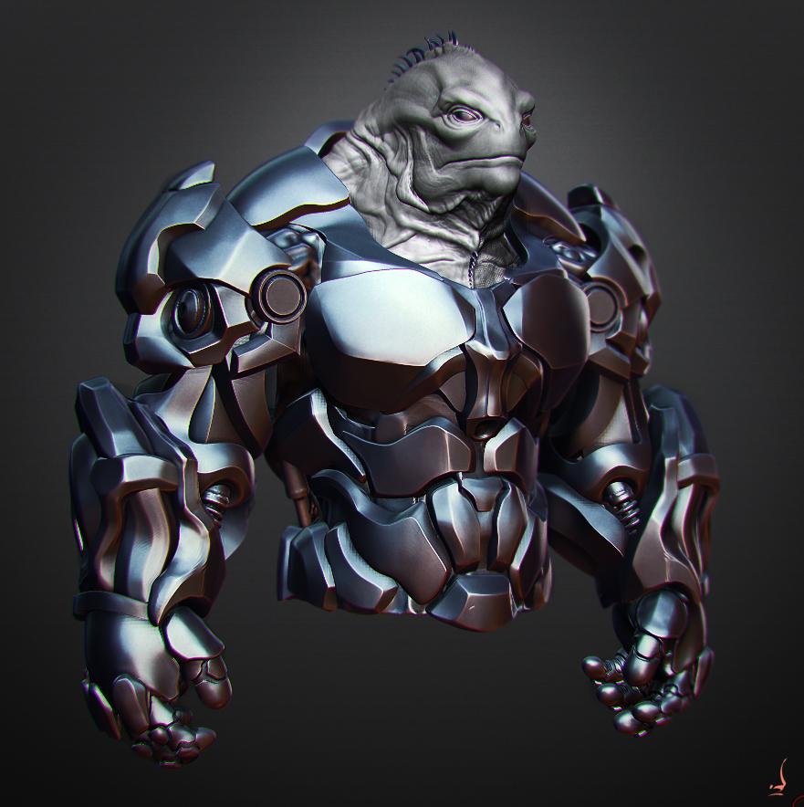 Alien 32 armor by perana