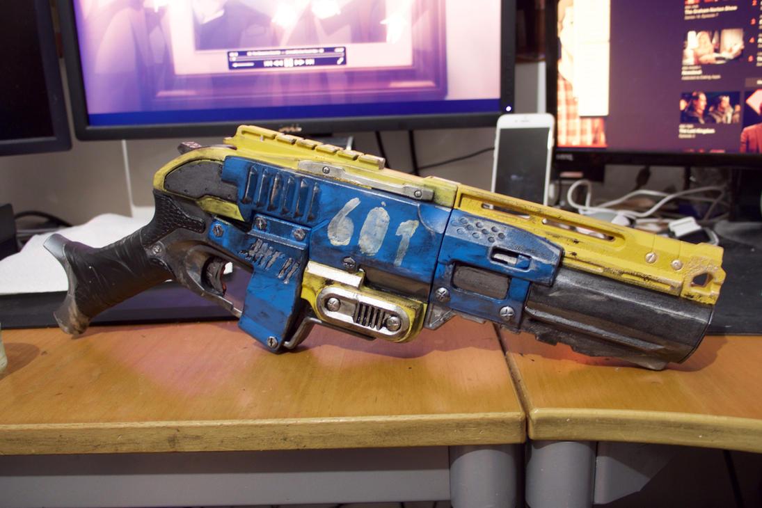 Fallout 4 Nerf Sledgefire Colour mod by originalgameruk