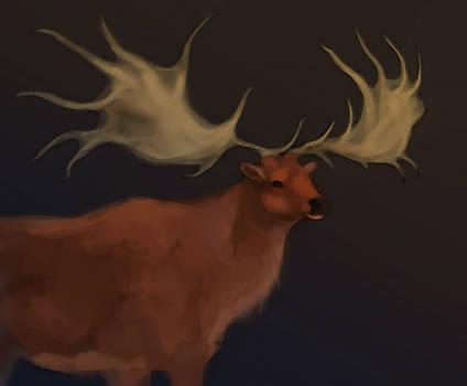Deercember #3 | Irish Elk
