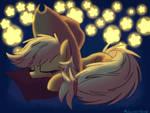 Applejack In The World Of Stars