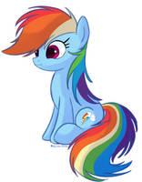 [MLP:FIM] Rainbow Dash by Molochko-Persik