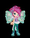 chibi Tecna Sirenix by fenixfairy