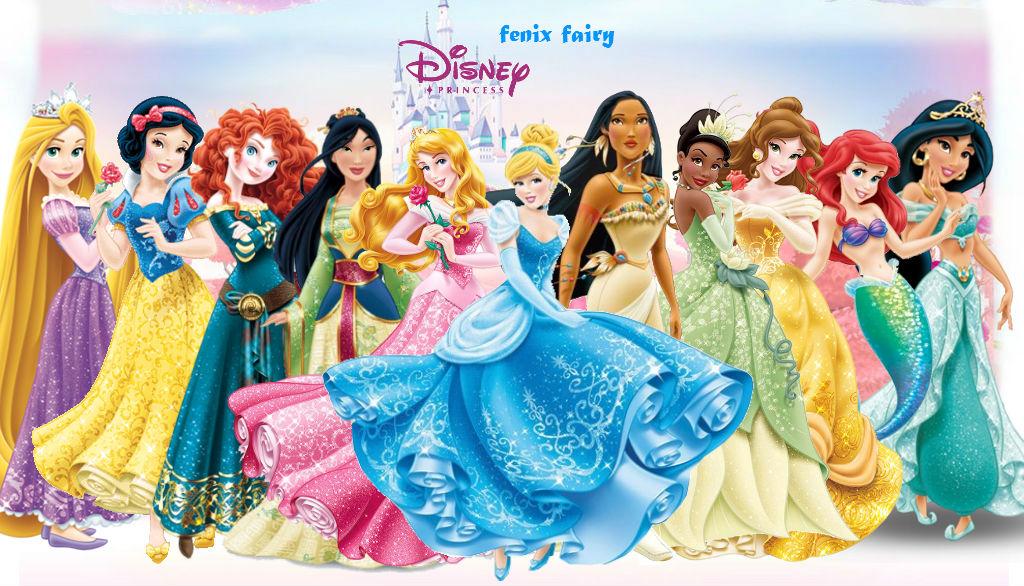 Disney Princess New Look by fenixfairy on DeviantArt