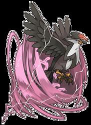 starraptor by fenixfairy