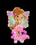 chibi Flora Harmonix by fenixfairy