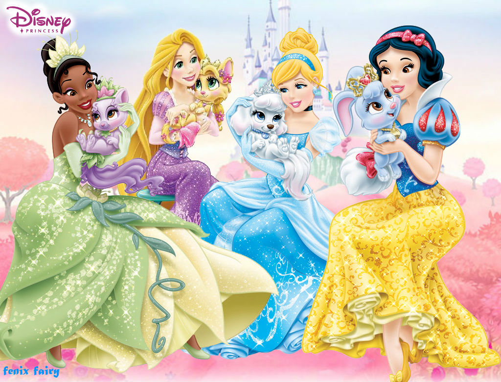 Disney Princess Wallpaper Palace Pet By Fenixfairy