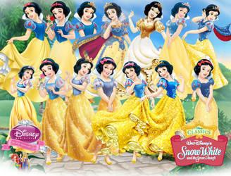 Snow White Evolution by fenixfairy