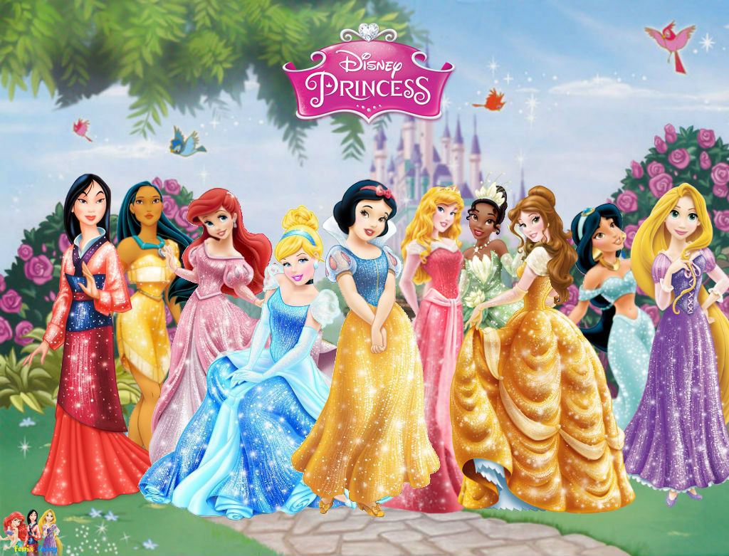 Disney Princess Pre Redessign Wallpaper By Fenixfairy