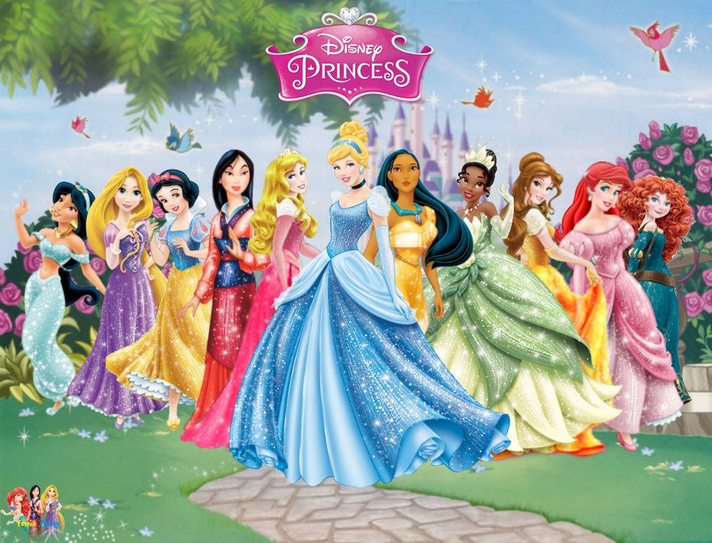 Disney Princess Wallpaper by fenixfairy on DeviantArt