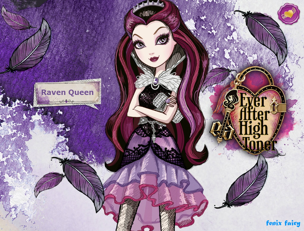 Raven Queen from ever after high by AzZzAeLL on DeviantArt
