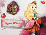 Ever after high Apple White wallpaper